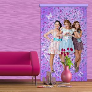 Rideaux Team Violetta Disney Channel (140 x 245 cm)