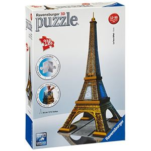 Ravensburger Puzzle 3D - Tour Eiffel 216 pièces