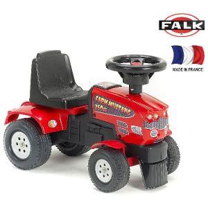 Falk Porteur tracteur Farm Mustang 350S et remorque
