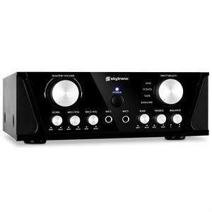 Skytronic 103.200 - Ampli Hi-Fi karaoké compact  400W