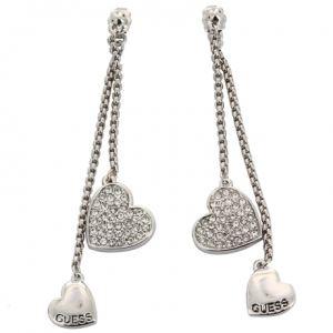Guess UBE11419 - Boucles d'oreilles pendantes coeur