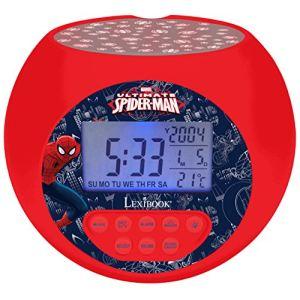 Lexibook Rl975SP - Radio réveil projection Spiderman