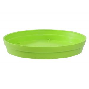 Eda Plastiques Toscane - Soucoupe ronde Ø28 cm pour pot Ø40 cm
