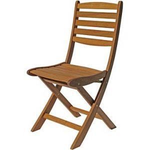 Residence Adriana - Chaise de jardin en bois tropical