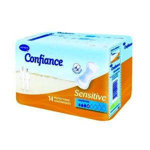 Hartmann Confiance Sensitive - Protection anatomique absorption (4 paquet 14 protections)
