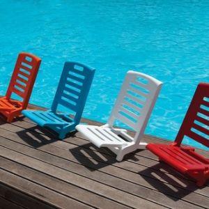 Transat jardin rouge comparer 150 offres for Relax plage pliante