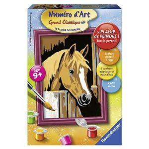 Ravensburger Peinture au numéro - Mini cheval dans son box