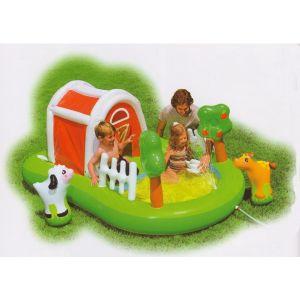 intex aire de jeux aquatique la ferme comparer avec. Black Bedroom Furniture Sets. Home Design Ideas