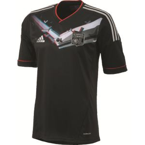 Adidas W37336 - Maillot de foot troisième tenue Olympique Lyonnais 2012 / 2013 junior