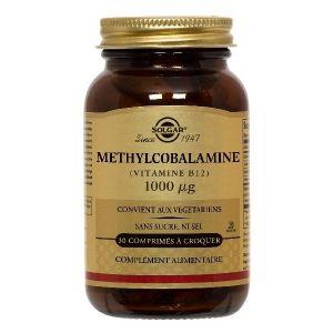 Solgar Méthylcobalamine Vitamine B12 - 30 Comprimés