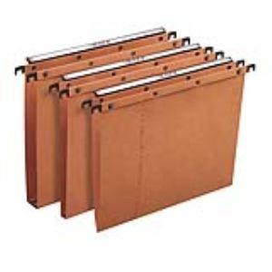 L'Oblique AZ Paquet de 25 dossiers suspendus pour tiroir AZO (fond : V)