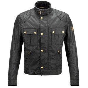 Belstaff Brooklands (noir) - Blouson moto textile pour homme