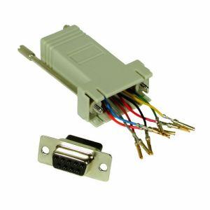 C2g 81545 - Adaptateur modulaire femelle RJ45 à DB9
