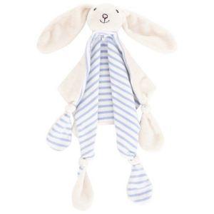 JoJo Maman Bébé Doudou Lapin bleu