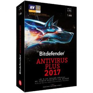 Bitdefender Antivirus Plus 2017 pour Windows