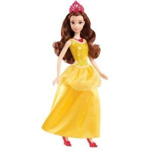 Mattel Disney Princesse paillettes : Belle (X9336)