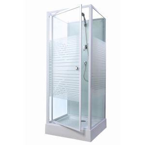 Gelco Cabine de douche Premium (80 x 80 cm)