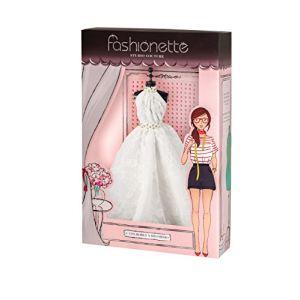 Fashionette Robe couture à décorer : Modèle Sissi pour poupée mannequin