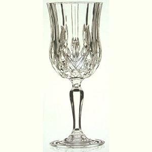 Cristal de paris 6 verres à pied pour eau Opéra (23 cl)