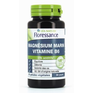floressance magn sium marin vitamine b6 60 g lules comparer avec. Black Bedroom Furniture Sets. Home Design Ideas