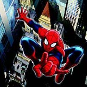 Tableau Spiderman en plastique