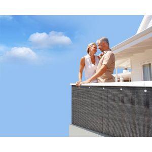 Brise vue pour balcon 500 x 90 cm