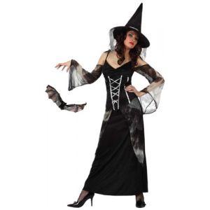 Atosa Déguisement sorcière chauve-souris femme Halloween