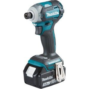 Makita DTD170RTJ - Visseuse à chocs 18V Li Ion 5Ah Hexagonal 1/4'' 175 Nm