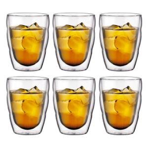 Bodum 10484-10-12 - 6 verres double paroi Pilatus (25 cl)