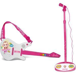 IMC Toys Guitare électrique + Micro sur pied Barbie