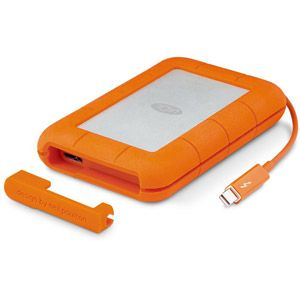 Lacie STEV1000400 - Disque SSD Rugged 1 To Thunderbolt USB 3.0