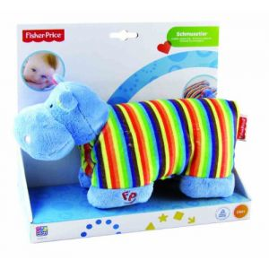 Fisher-Price Coussin peluche Hippo