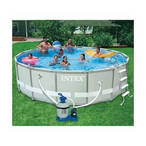 Piscine intex ultra frame comparer 24 offres for Auchan piscine tubulaire