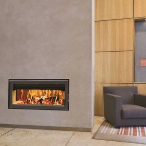 Termofoc C1000DF - Insert à bois cadre en acier + Kit de ventilation pour insert C1000DF