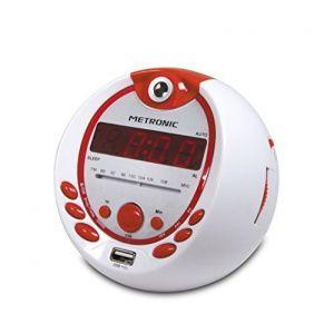 Metronic 477021 - Radio portable avec radio-réveil intégrée