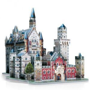 Wrebbit Château De Neuschwanstein - Puzzle 3D 890 pièces