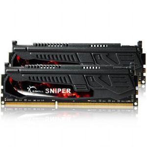 G.Skill F3-12800CL9D-8GBSR - Barrettes mémoire Sniper 2 x 4 Go DDR3 1600 MHz CL9 Dimm 240 broches