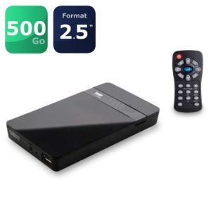 "WE Travel HD 500 Go - Disque dur multimédia 2.5"" USB 3.0 Composite HDMI"