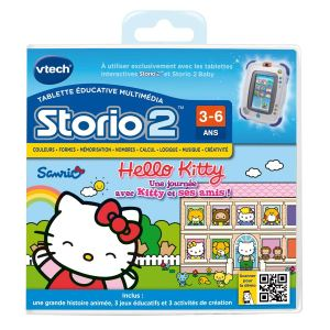Vtech Jeu tablette Storio 2 : Hello Kitty