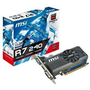 MSI R7 240 2GD3 LP - Carte graphique Radeon R7 240 Low Profile 2 Go DDR3 PCI-E 3.0
