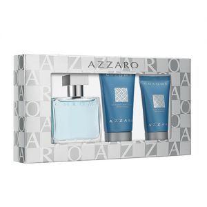Azzaro Coffret Chrome pour homme - Eau de toilette et gel douche