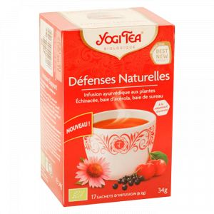 Yogi Tea Défenses Naturelles bio - Infusion,  17 sachets