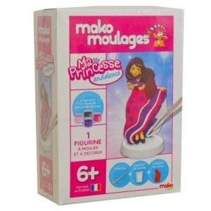 Mako moulages 1 moulage en plâtre Ma princesse Andalouse