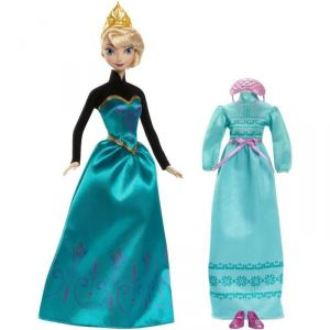 Mattel Coffret Elsa et tenue Disney Princesse