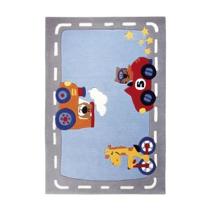 Sigikid Tapis de tapis enfant Happy Street Traffic (90 x 160 cm)