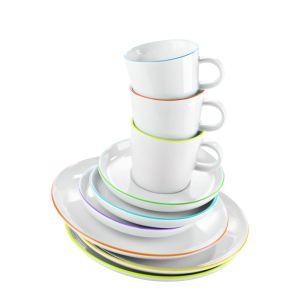 Comparez Achetez Service De Table 18 Pièces En Porcelaine LIANE