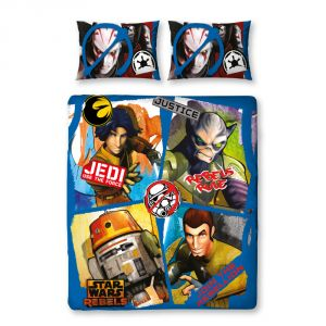 Character World Disney Star Wars Rebels Tag - Housse de couette et 2 taies (200 x 200 cm)