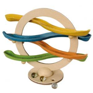 Plan Toys Circuit à billes Klick-Klack