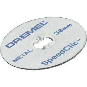 Dremel SC456B - EZ SpeedClic : pack de 12 disques à tronçonner pour la découpe des métaux