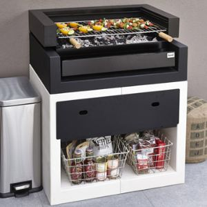 maison facile kitaway grill barbecue fixe en b ton comparer avec. Black Bedroom Furniture Sets. Home Design Ideas